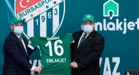 Emlakjet Bursaspor sponsorluk anlaşması