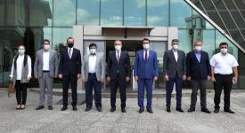 Bursa Büyükşehir Belediye Başkanı Alinur Aktaş'tan ziyaret