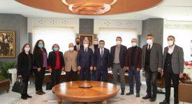 Selçuk Türkoğlu'ndan Turgay Erdem'e Ziyaret